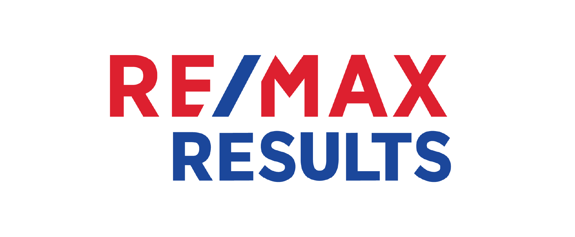 white remax results logo