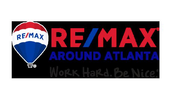 re/max around atlanta logo