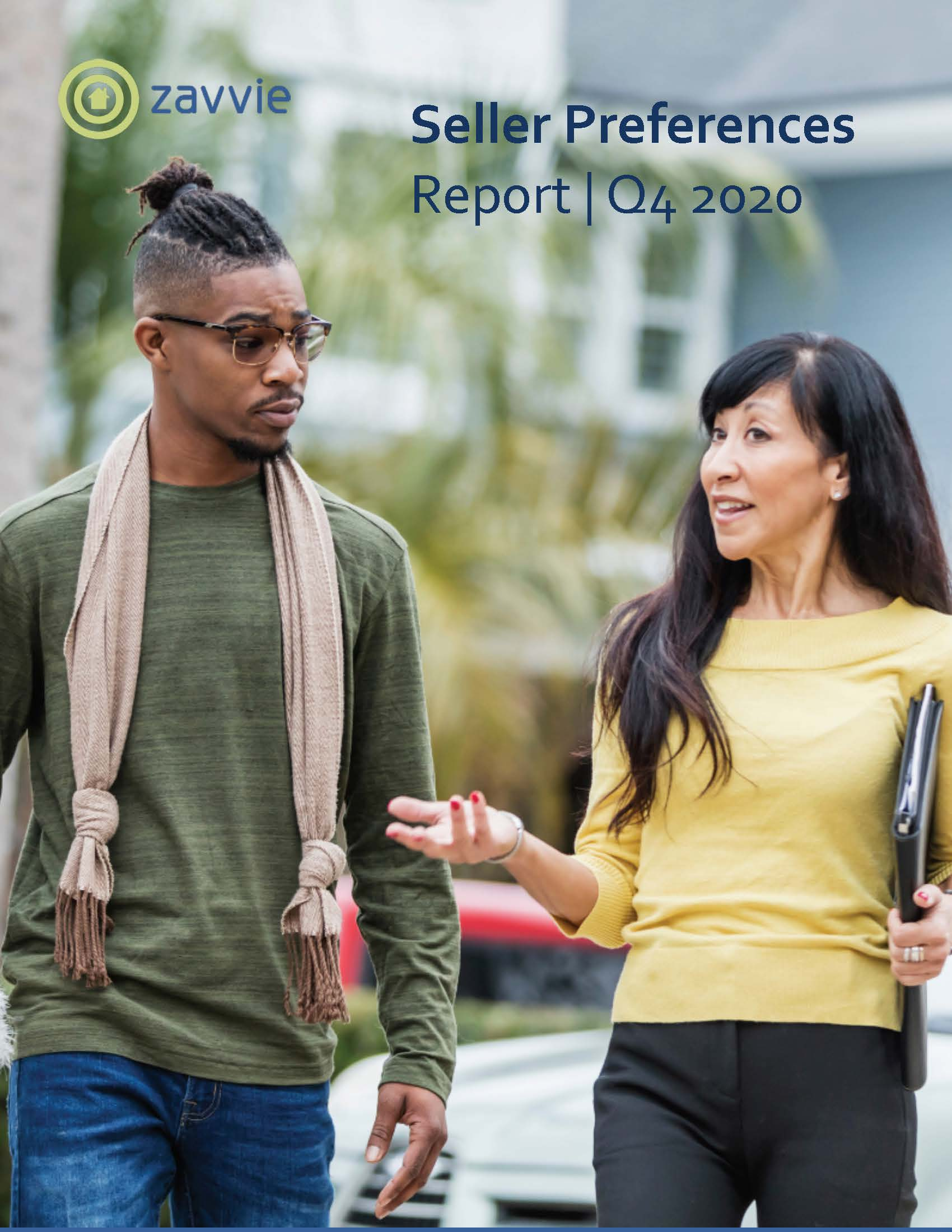 zavvie seller preferences report